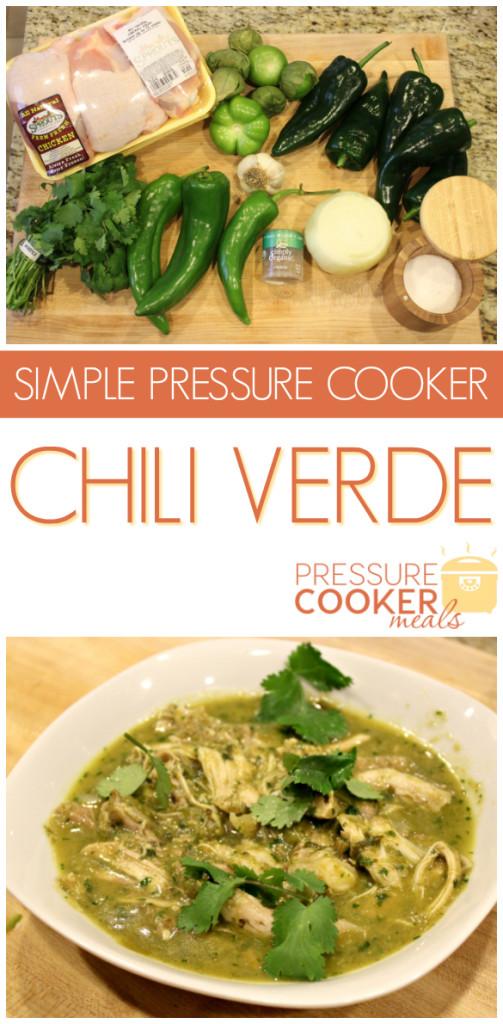 Chili Verde in the Pressure Cooker