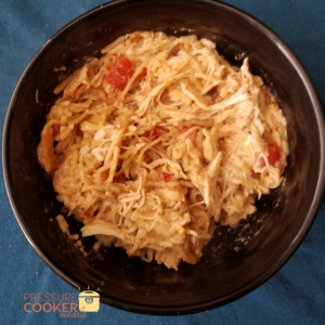 Instant Pot Chicken Spaghetti is a great easy to eat meal that everyone will love! It is full of flavor, budget friendly and delicious!