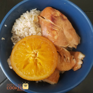 Instant Pot Orange Chicken is a meal that is ready in just 15 minutes and gives your family a perfect excuse to enjoy delicious healthy dinners together!