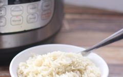 Perfect Rice in the Instant Pot